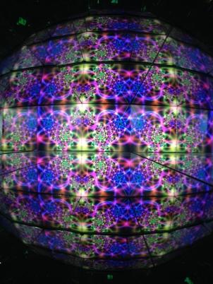 Kaleidoscope at Camera Obscura in Edinburgh.